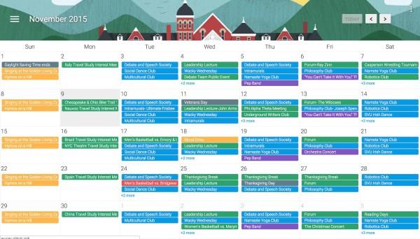 Southern Virginia University Calendar